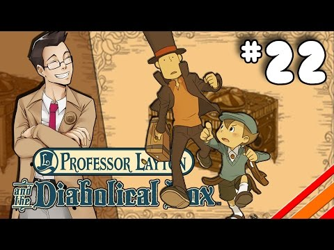 Professor Layton And The Diabolical Box | ENDING | Part 22