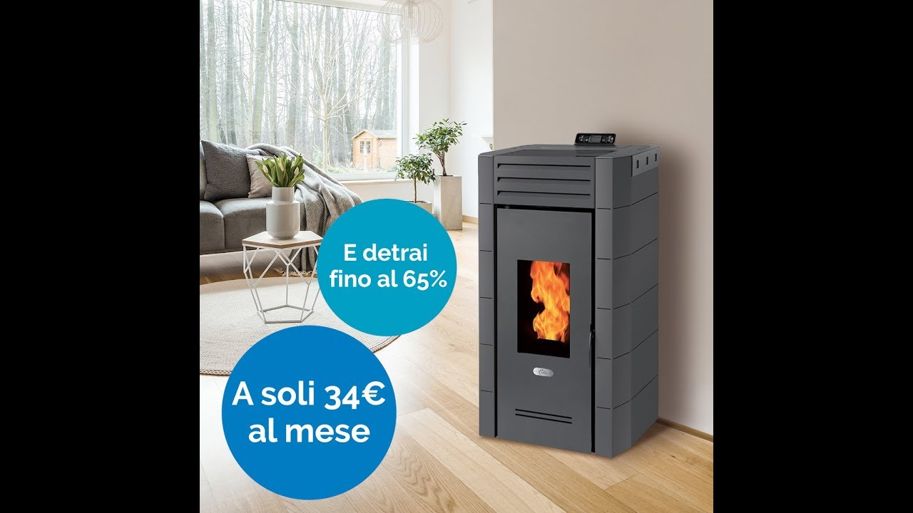 Ariel energia stufe a pellet youtube for Ariel stufe a pellet