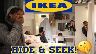 The Craziest *Ikea* Hide & Seek Challenge Ft.ks Ldn,Barnsey,Dee h,Mark Ldn & Rizzy