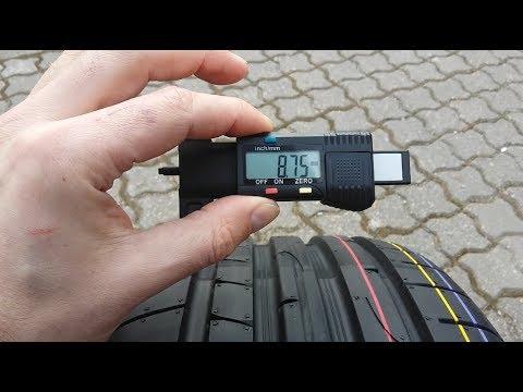 Dunlop Sport Maxx RT 2 - Prezentacja Oraz Pomiar Głębokości Bieżnika