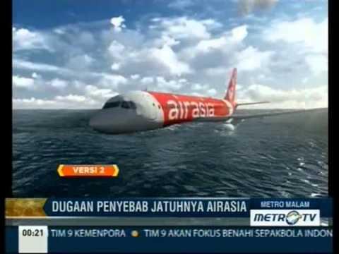 Ilustrasi Penyebab Jatuhnya Pesawat AirAsia QZ8501