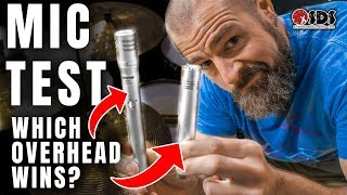 Drums: Overhead Mic Placement & Shootout