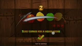 Fruit Ninja classic - 279 score