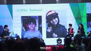 Gambar cover 170819 Kim Samuel(김사무엘) - 인사 Hong Kong 1st ShowCase 직캠/CAM [HD]