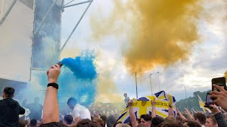 PROMOTION PARTY AT ELLAND ROAD!🍻 LEEDS UNITED RETURN TO THE PREMIER LEAGUE💙💛 | 2019/20