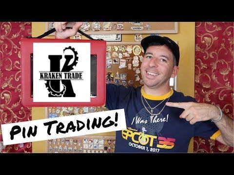 NEW DISNEY PIN TRADING BOOK | Kraken Trade