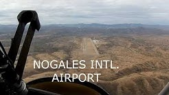 Fun flight around Huachuca mountains to Nogales Arizona