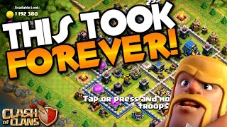 I CAN'T BELIEVE IT TOOK ME THIS LONG TO DO THIS! TH12 Farm to Max | Clash of Clans