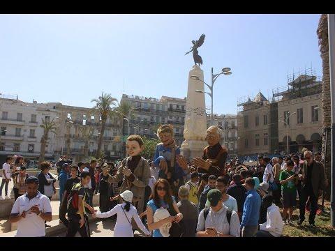 Sorties de rue 1er mai 2015  à Oran  - Les Grandes Personnes