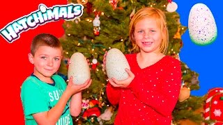 ASSISTANT and BATBOY Hatchimal CHristmas Surprise With Paw Patrol + PJ Masks Holiday Toys Video