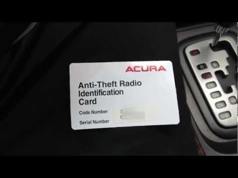 Anti Theft Radio Code Funnydog Tv