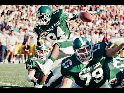Spartan Legends - Lorenzo White (1988 NFL Draft - 22nd Pick)