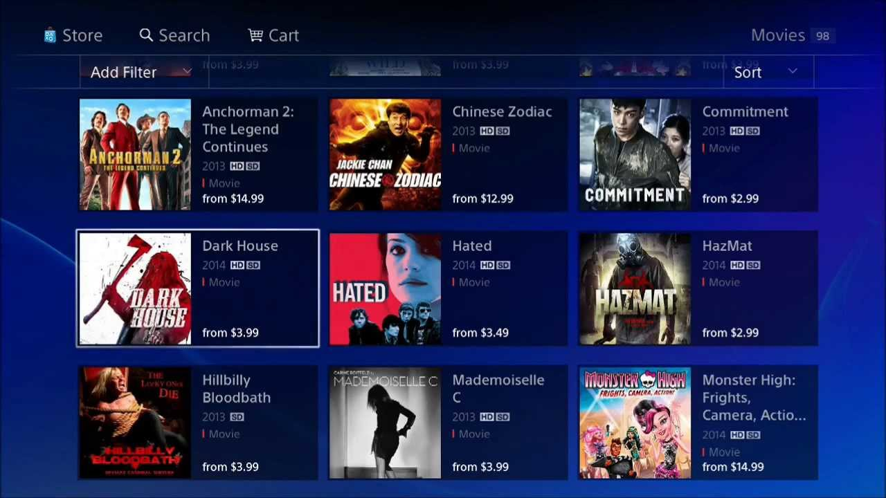 PlayStation Store Update March 11, 2014 (PS3 & PS4) - YouTube