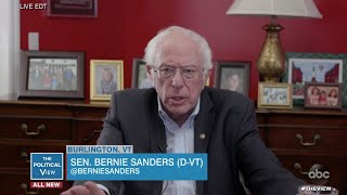 Bernie Sanders on Why He's Still Staying in the Race to the White House | The View