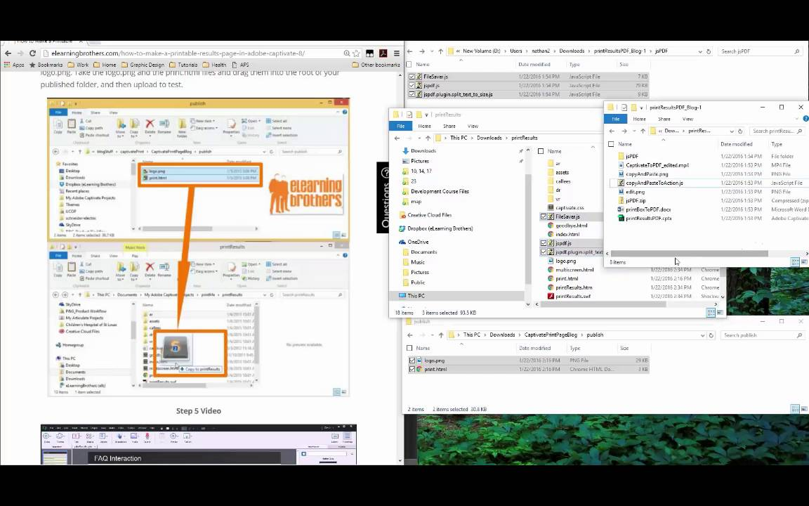 3 Ways to Print to PDF in Captivate 8 - eLearning Brothers