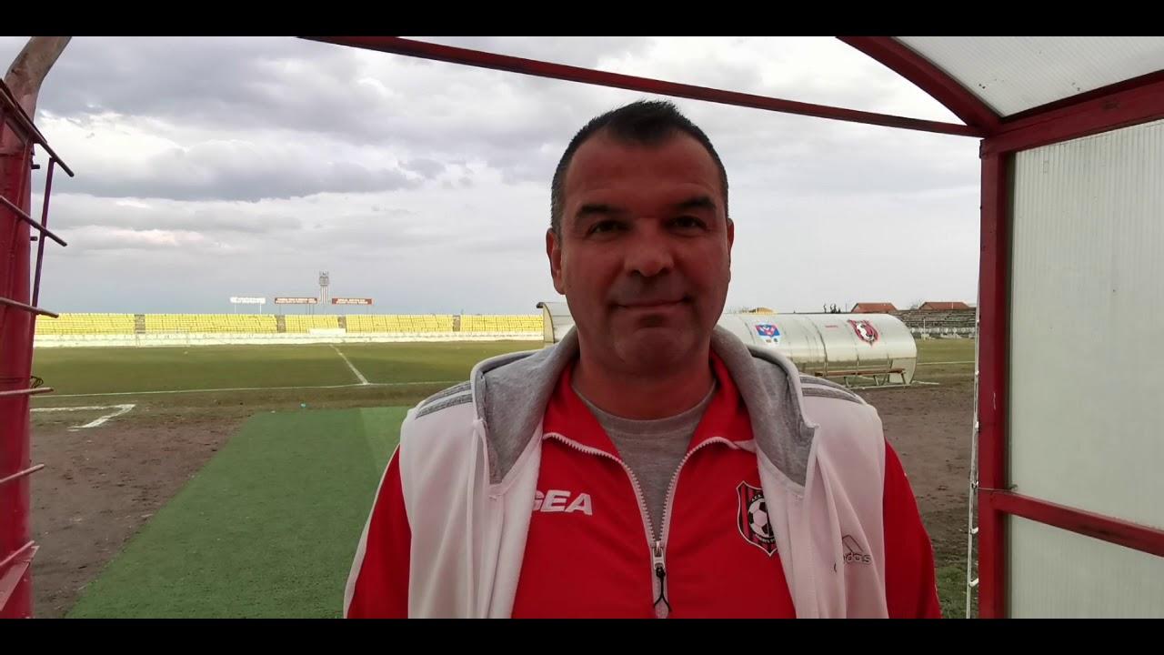 Florin Pampea după Arieșul Turda - AFC Hărman 1-1 (08.03.2019)