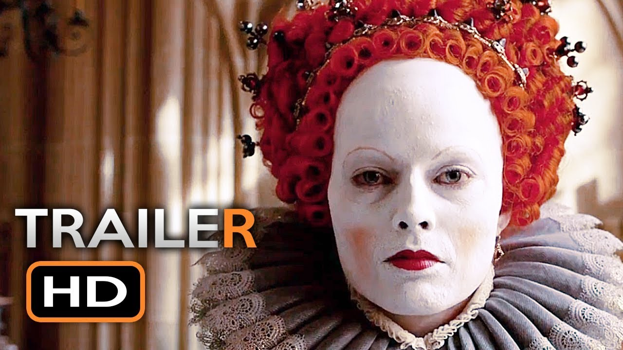 Mary Queen Of Scots Official Trailer 2018 Margot Robbie Saoirse