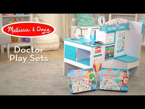 Melissa & Doug Get Well Doctor Activity Center   Encourages Nurturing & Empathetic Play
