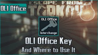 OLI Logistics Key Spawn + Use Location - Interchange - Escape from Tarkov Key Guide
