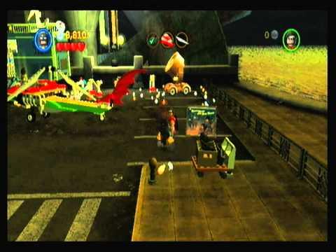 LEGO Batman 2 DC Super Heroes Wii Part 3 Level 2: Part 1 ...