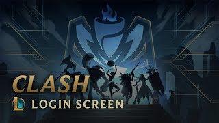 Clash | Login Screen - League of Legends
