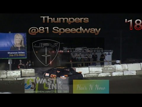 Thumpers #60, Full Race, 81 Speedway, 09/15/18