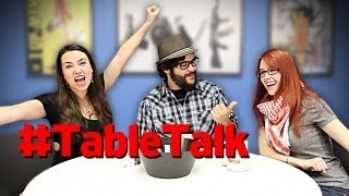Table Talk: Swords, Google Glass, & Adult Cartoons!