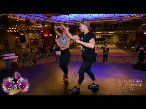 Rafael Barros & Carine Morais - Salsa Partnerwork   Beirut Salsa Loca 2018