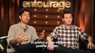 Entourage (El Séquito) - Entrevista Adrian Grenier y Kevin Connolly HD