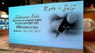 Write your own Note to Self
