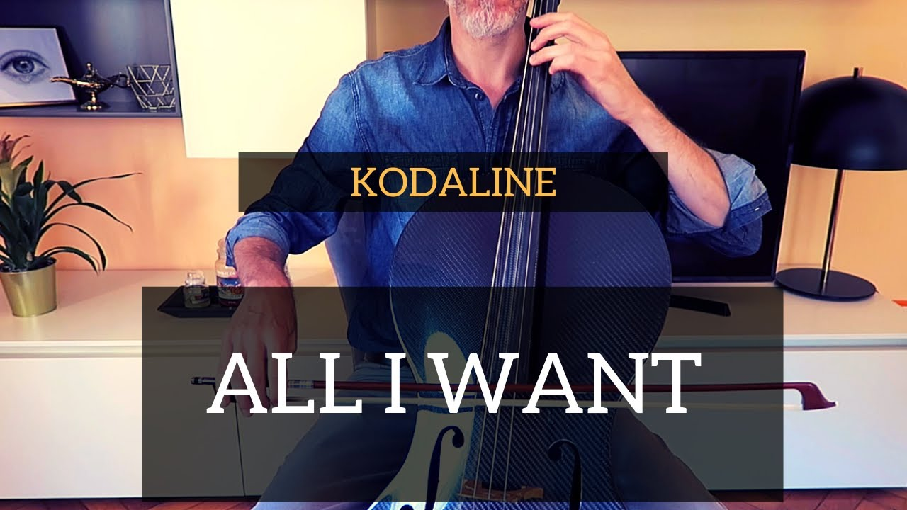 Kodaline - All I Want for cello (COVER)