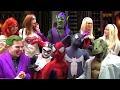 SPIDER-VERSE vs JOKER & HARLEY QUINN! Ft. Spider-Man Spider-Gwen Green Goblin - MELF