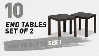 End Tables Set Of 2 // New & Popular 2017