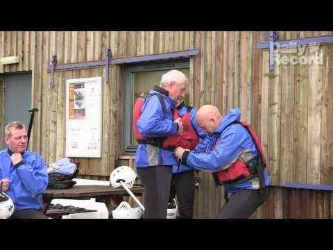 Exclusive: Rangers Management Team Go White Water Rafting