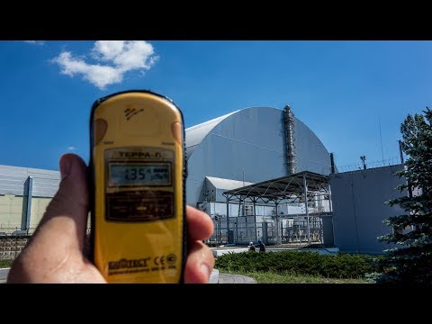 Motorcycle Trip to Mongolia, Part 3, Chernobyl Nuclear Power Plant - episode 2