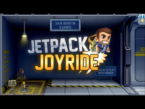 Jetpack Joyride / Игры на Android / Game Play