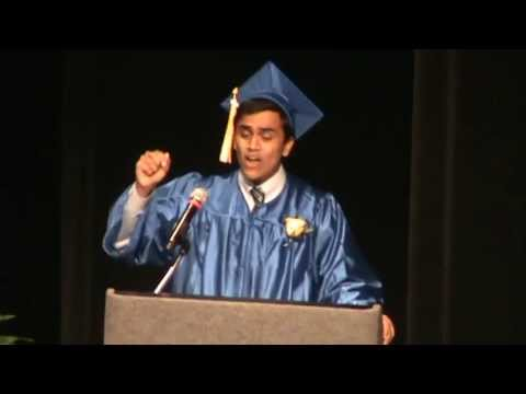 Best Graduation Speech Ever! - YouTube