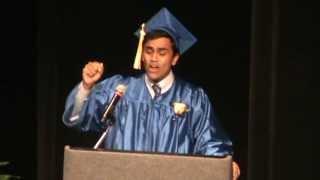 Repeat youtube video Best Graduation Speech Ever!