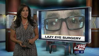 VIDEO: Fixing lazy eye: It's not too late for adults