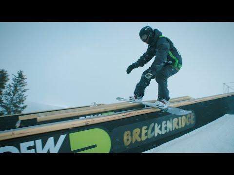 Ugandan Olympic snowboard hopeful Brolin Mawejje foreruns Dew Tour slopestyle: Beyond The Bib Part 2