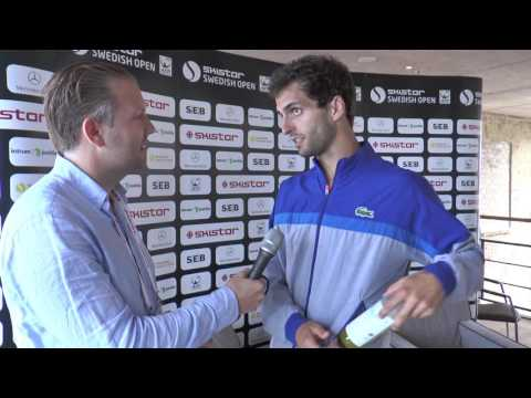 "Albert Ramos-Vinolas ""I couldnt be more happy"""