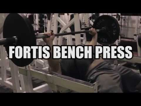 GYM PORN: THE BEST BENCH PRESS EVER (Fortis Fitness)