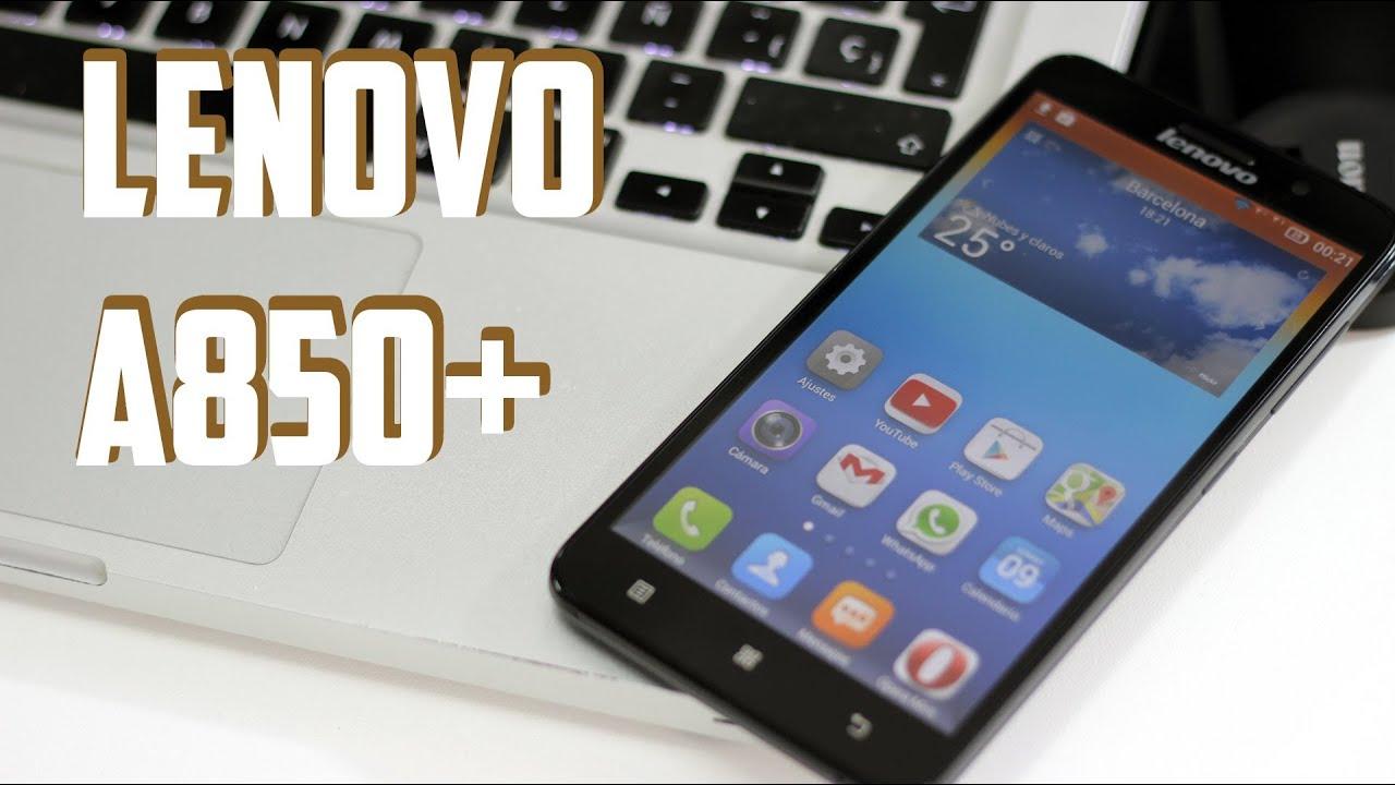 Lenovo A850+, Review en español - YouTube