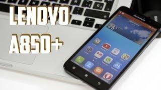 Lenovo A850+, Review en español