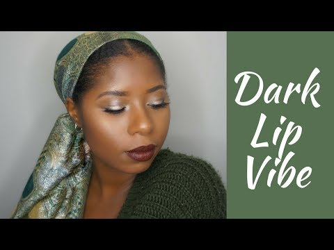 Easy Silver Eye/Dark Lip Vibe