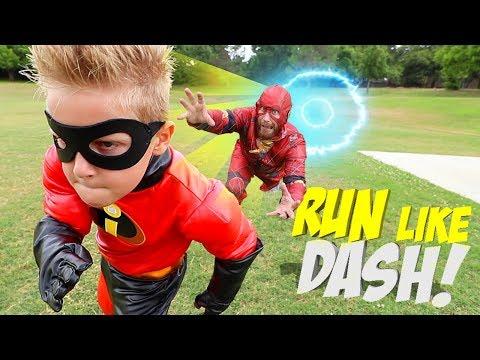 Run Like DASH, Future Little FLASH! The Incredibles 2 Gear T