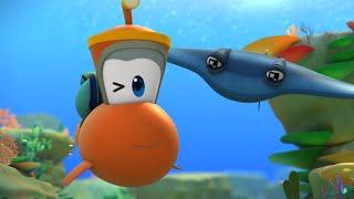 Мультики для детей - Марин и его друзья - Подводные истории - Дикий скат