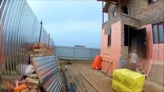 МПС Алматы. Дом в 2 этажа, фасадные работы - 2.  Воскресенье. 31.07.16.(, 2016-07-31T12:16:25.000Z)