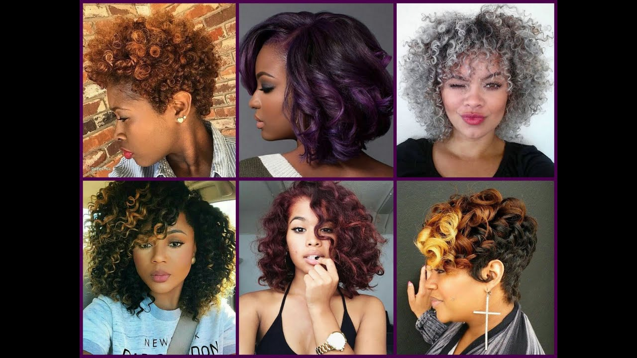 Hair Color Trends For Black Women Youtube