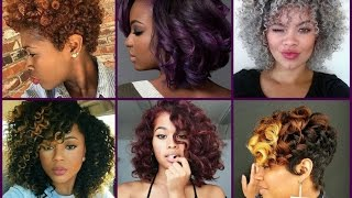 Hair Color Trends for Black Women(Best trendy hair color for dark skin women with short, madium and long hair. Pantone Hair Color Trends https://youtu.be/kT55xIkSgxc Hidden Hair Color ..., 2016-06-20T19:25:39.000Z)